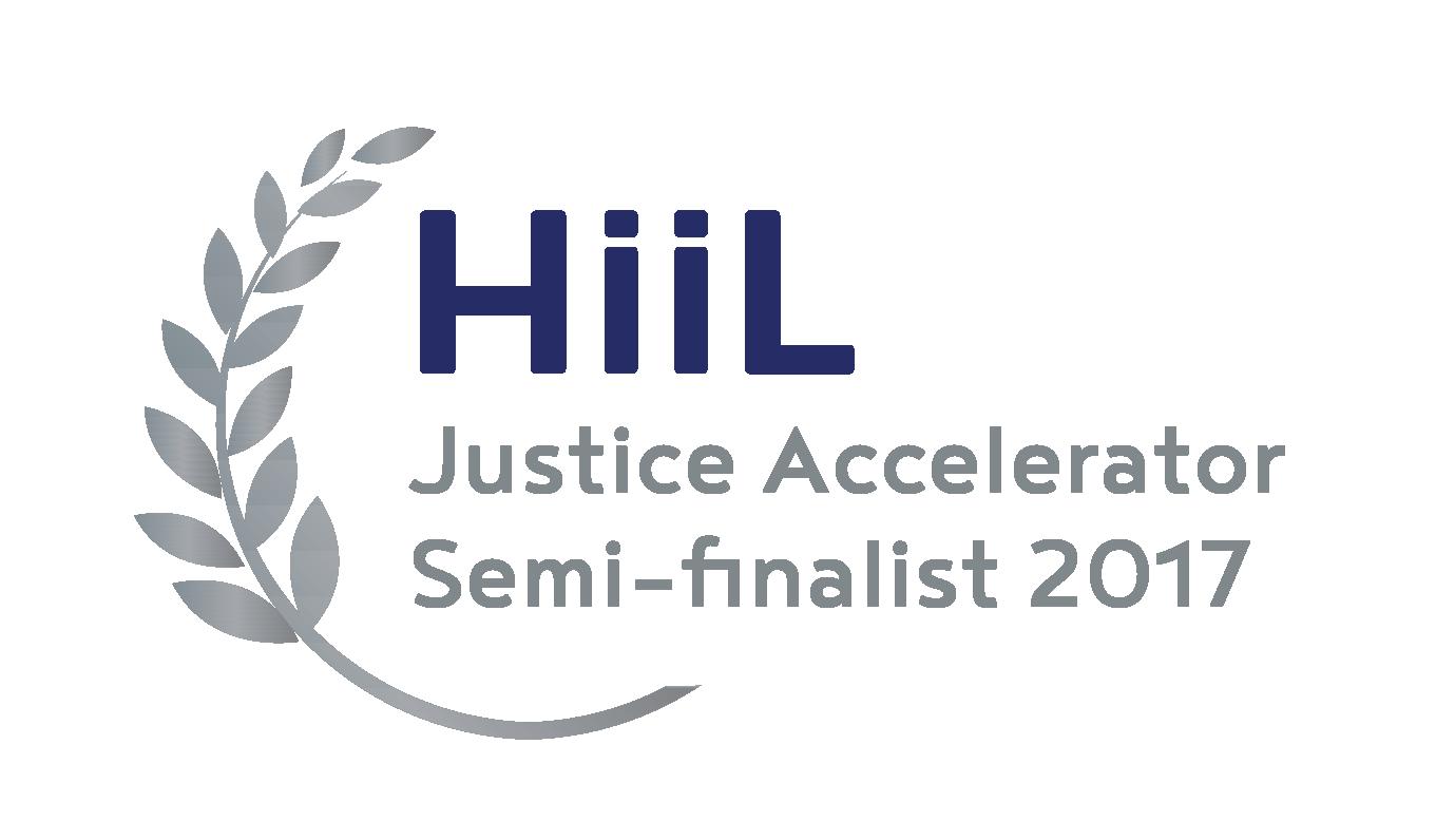 HiiL Justice Accelerator Semi Finalist